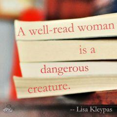 dangerous well-read woman